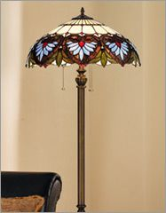 lamps | Floor Lamps - Contemporary, Tiffany Style, Torchiere, Arc, Halogen ...
