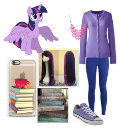 """""""Twilight Sparkle ✨"""" by otaku-max ❤ liked on Polyvore featuring NIKE, Lands' End, Converse, Alexa Starr, My Little Pony and Casetify"""