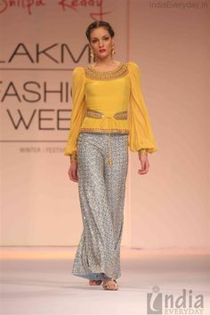 Shilpa Reddy Show at LAKME FASHION WEEK 2013