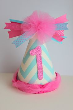 pink and blue party ideas | visit etsy com