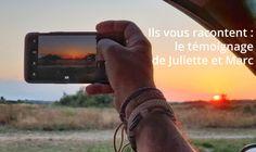 Découvrez le témoignage de nos clients sur le montage du film de voyage retraçant leur roadtrip d'un an à travers le continent américain. #LesfilmsduChatRoux Les Continents, Client, Films, Mens Sunglasses, Montage, Smartphone, Photos, Blog, Moon