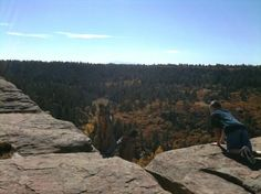 Views from Rimrock Trail at Castlewood Canyon State Park