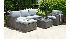 5 Seater Corner Set - Garden Furniture - Out & Out Original Patio Lounge Furniture, Garden Furniture Sale, Outdoor Furniture Sets, Furniture Ideas, Outdoor Couch, Outdoor Decor, Unfinished Wood Furniture, Metal Furniture, Luxury Furniture