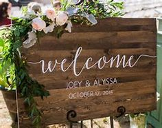 Image result for sign in wedding table