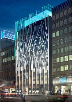 Carbondale Architects: Nova fachada Tiffany & Co., Tóquio - Arcoweb #fachadasarquitectura