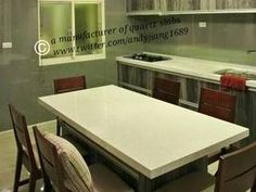 quartz #countertop and peninsula #kitchen #homedecor #remodeling...