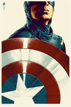 Captain America by MONDO