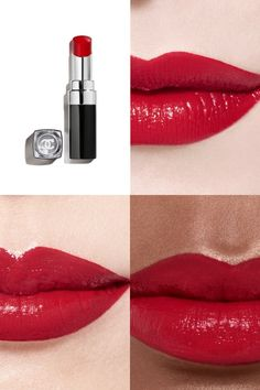 Makeup News, Chanel Beauty, Bloom, Make Up, Lipstick, Skin Care, Cold, Winter Time, Red