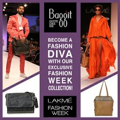 Baggit presents its Lakme Fashion Week Collection!  Available only at: www.baggit.com
