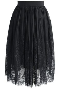 Fairy Tulle Black Skirt- New Arrivals - Retro, Indie and Unique Fashion