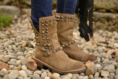 Studded Biker Boots - NEED!