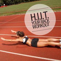 HIIT Your Back Workout #backworkout