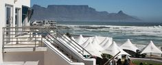 The Blue Peter, Bloubergstrand, Cape Town, right near our apt. Friday night sundowners or watching the wind surfers after a Sunday afternoon at the beach. Blue Peter, Cape Town South Africa, Table Mountain, Surfers, Africa Travel, Dates, Places To Go, Banner, Wanderlust