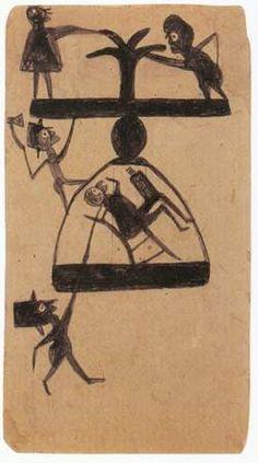 bill traylor artist - Google Search