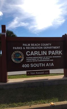 CARLIN PARK is a wonderful oceanfront Jupiter, Fl park and recreation area. Amazing views and terrific things to do at this waterfront paradise. #carlinpark