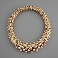 Chanel Paris Gold and Pearl Necklace - The Silver Fund