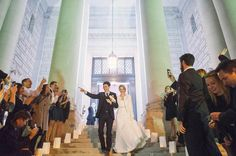 Becky + Greg // Carnegie Institute of Science // Washington DC Wedding | Washington DC Wedding Photographer | Leo Druker