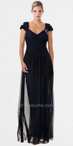 JS Collection Navy Mother of the Bride Dresses on shopstyle.com