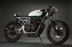 Honda CB550 Cafe Racer by Cafe Cycles #motorcycles #caferacer #motos   caferacerpasion.com