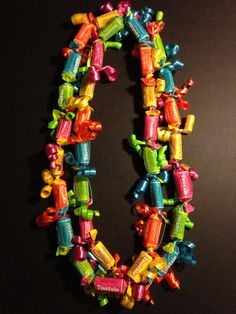 Adult Tootsie Fruit Rolls Candy Lei by IslandCandyLeis on Etsy