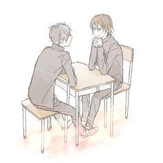 Shinra Kishitani | Orihara Izaya | 途中でSAIがフリーズしたのではろいんは諦めました新臨 もっとポップかわいいかんじにするはずだったのにだめだこいつぁ