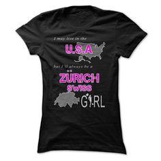 Zurich, swiss girl in the U.S.A (Sun)