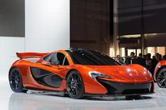 McLaren shows production P1 at private NYC shindig