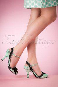 Ruby Shoo Heidi Ladies Shoes Mint 420 49 16807 02242016 002W