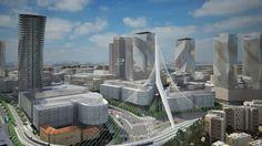 nuevo distrito de negocios de Jerusalén