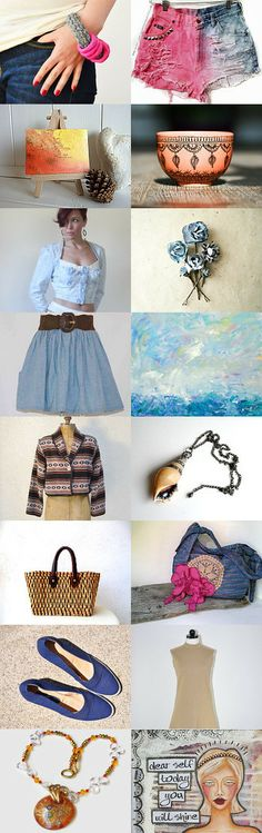 Simply California Dreamin' by Lilli Blue on Etsy--Pinned with TreasuryPin.com