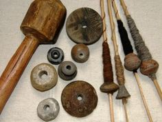 More than just spindles - this site has a huge amount of information and images about backstrap weaving.
