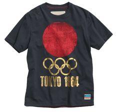 Olympic > Shop > Black Tokyo 1964 T-Shirt