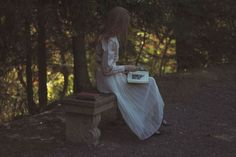 Charming Jane Eyre Inspired Photo Shoot: Using Stories From Jane Austen And The Bronte Sisters As Inspiration, 21-Year-Old Polish Photographer Michalina Woźniak Photographs Her Good Friend Olivia In These Lovely 1840'S London-Themed Photos