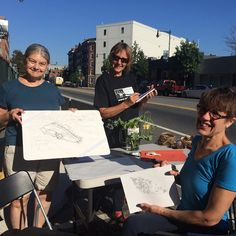Our volunteers from Art & Science in One are showcasing science illustration/nature drawing and welcoming visitors to our #parkingday2015 spot across the street from @mitmuseum in #CambridgeMA. Stop by we're here until 5pm with free iced tea. #CambMA #igersboston #STEAM by cambridgeschoolvolunteers September 18 2015 at 10:55AM