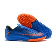 timeless design bde8c c7edc Nike Mercurial SuperflyX VI Elite CR7 TF Botas de futbol Azul naranja