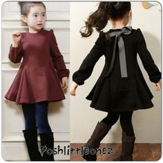 Buy directly from the world's most awesome indie brands. Or open a free online store.-- Gorgeous bowtie dress from Little Diva Kids Boutique on Storenvy Little Girl Fashion, Fashion Kids, Fashion Clothes, Fashion Dolls, Style Fashion, Little Girl Dresses, Girls Dresses, Outfits Niños, Fashion Outfits