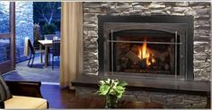 For the bedroom, pellet stove Stove Fireplace, Cozy Fireplace, Fireplace Remodel, Fireplace Ideas, Pellet Stove Inserts, Farmhouse Renovation, Fireplace Inserts, Building A House, New Homes