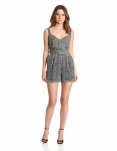 Anna Sui Women's Cabbage Rose Print Crinkle And Rosebud Stripe Romper, Black Multi, 8 Anna Sui,http://www.amazon.com/dp/B00BUJ8B74/ref=cm_sw_r_pi_dp_AZBwtb1KTYWJ4784