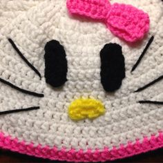 Hello Kitty Beanie from Crafts by Kristen | Square Market