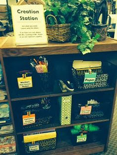 Creation Station. MISD Library Info: Top Shelf Makerspace