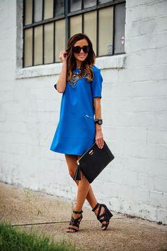 GiGi New York | Sequins and Things Fashion Blog | Black Uber Clutch