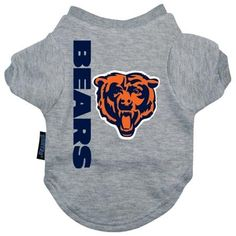 Chicago Bears Dog Tee Shirt - Large  15% Discount - Use code DOGGIE at Checkout   http://www.gingersdoggieheaven.com #ChicagoBears 15% Discount - Use code DOGGIE at Checkout