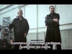 La British Heart Foundation a lancé une campagne pour la promotion du massage cardiaque simplifié...