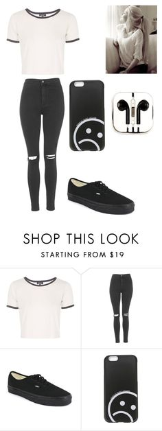 Untitled #140 by altxya on Polyvore featuring Topshop, Vans, Marc by Marc Jacobs and PhunkeeTree