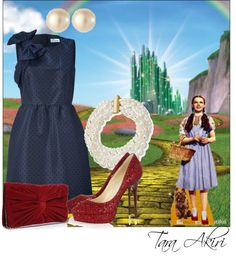 """""""Off To See The Wizard"""" by tara-akiri on Polyvore"""