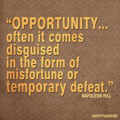 Words of wisdom by legendary Napoleon Hill @ www.massivewealthtosuccess.com