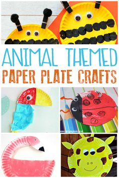 30 + Summer Themed Paper Plate Crafts for Kids  sc 1 st  Pinterest & 30 + Summer Themed Paper Plate Crafts for Kids | Paper plate crafts ...