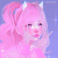 Kawaii Art, Kawaii Anime Girl, Anime Art Girl, Dream House Sketch, Scary Creepypasta, History Icon, Virtual Girl, Cyberpunk Girl, Trippy Wallpaper