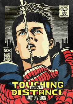Post-Punk Icons Reimagined As Marvel Heroes by Butcher Billy - Joy Division/Spider Man