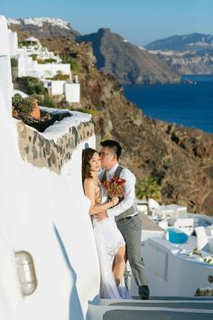 Sunrise | Crystal and Derrick – Wedding Day session in Santorini with Sunrise Greece